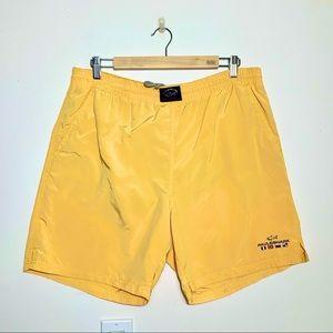PAUL & SHARK Yachting Men's Yellow Swim Trunks